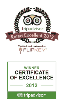 DeeDee Villas Flipkey Accommodation Award for Excellence