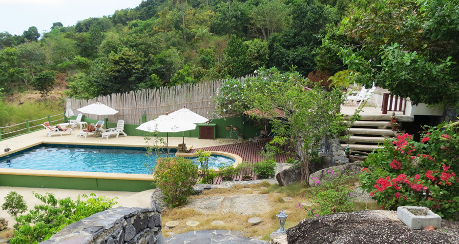Pool deedee villa retreat koh phangan thailand for Garden pool villa outrigger koh samui