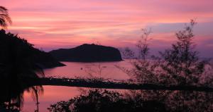 Purple Sunset Deedee Villa Retreat Koh Phangan Thailand