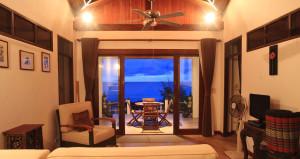 Villa 1 Living Area View Deedee Villa Retreat Koh Phangan Thailand